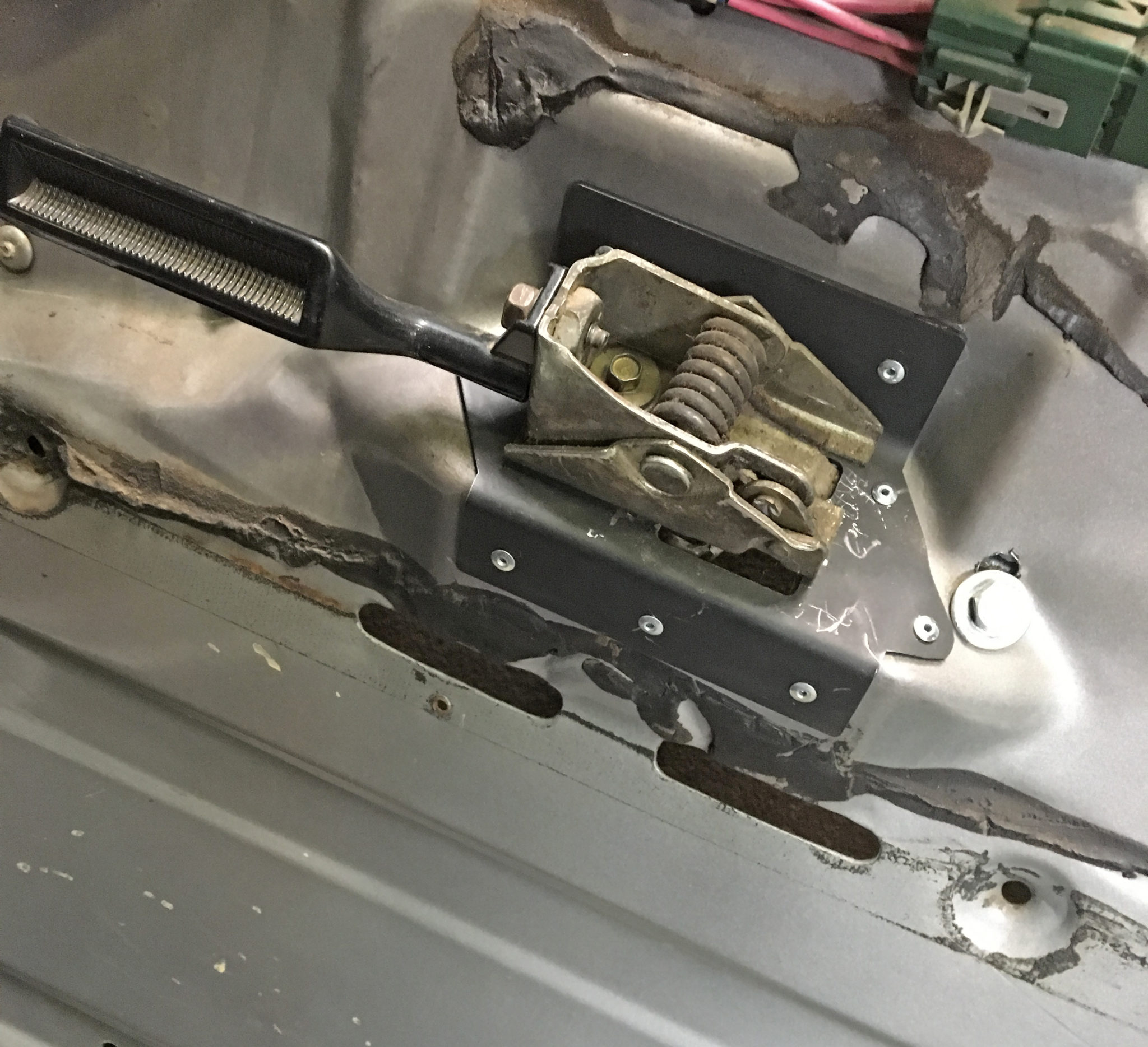 Ford Door Handle Repair Plate Solo Motorsports
