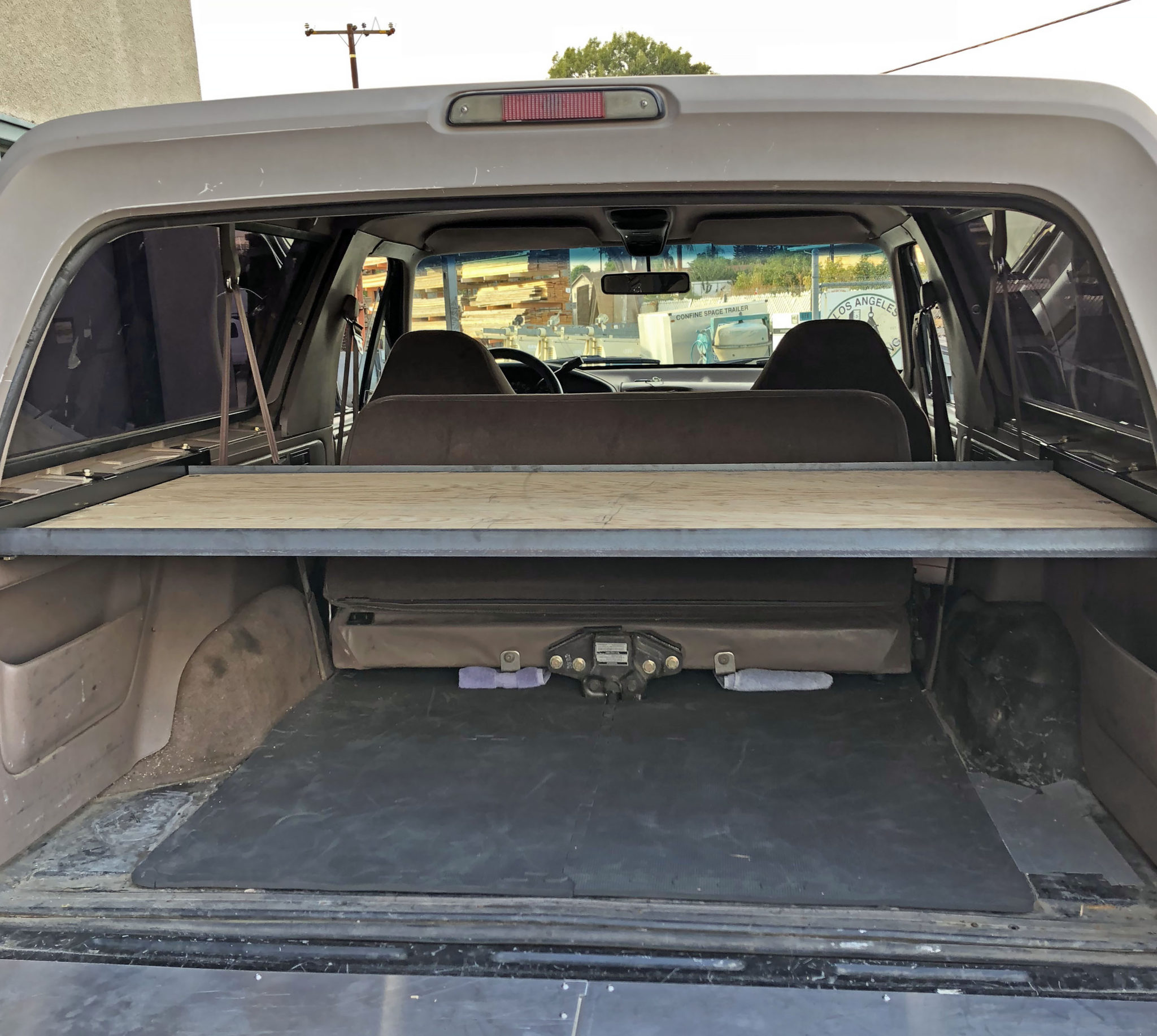 Ford Bronco Cargo Shelf Side Brackets | Solo Motorsports